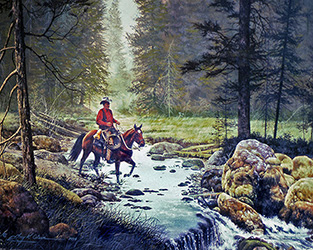 Riding the Back Country
