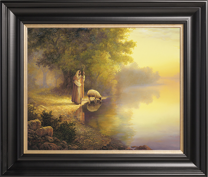 Beside Still Waters – 22×30 Limited Edition Canvas (550 S/N) Framed