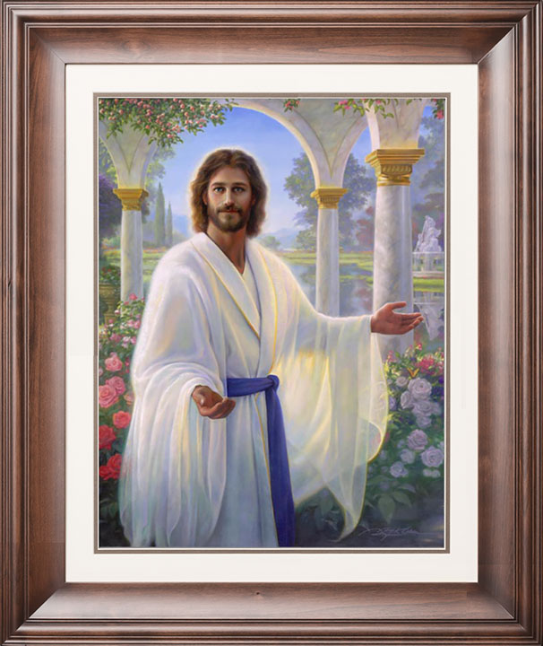 Abide With Me – 21×28 Limited Edition Paper (950 S/N) Framed