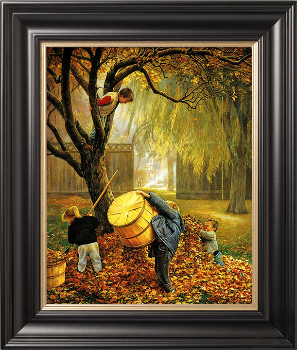 Fall Leaves – 20×25 Limited Edition Canvas (550 S/N)
