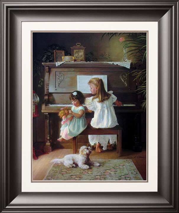 Melodies Remembered – 18×22 Limited Edition Paper (2500 S/N) Framed