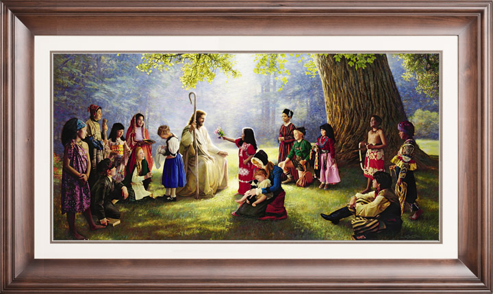 Children of the World – 14×29 Limited Edition Paper (2500 S/N) Framed