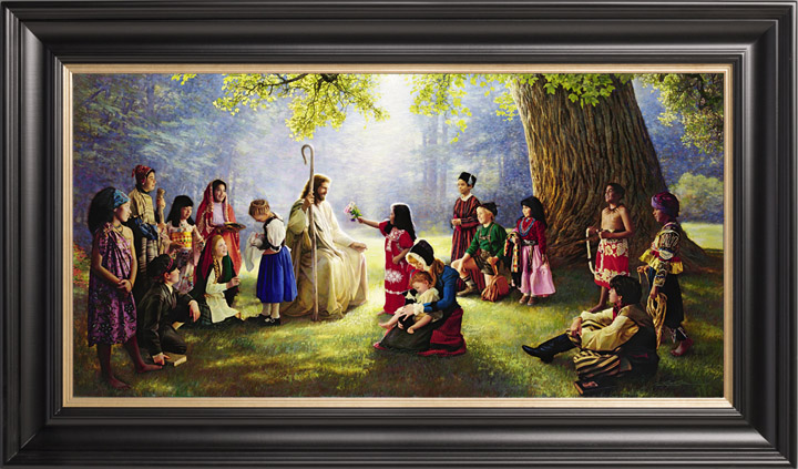 Children of the World – 19×39 Limited Edition Canvas (950 S/N) Framed