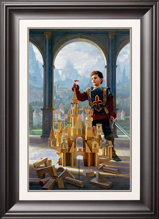 Heir to the Kingdom – 13×21 Limited Edition Paper (650 S/N) Framed
