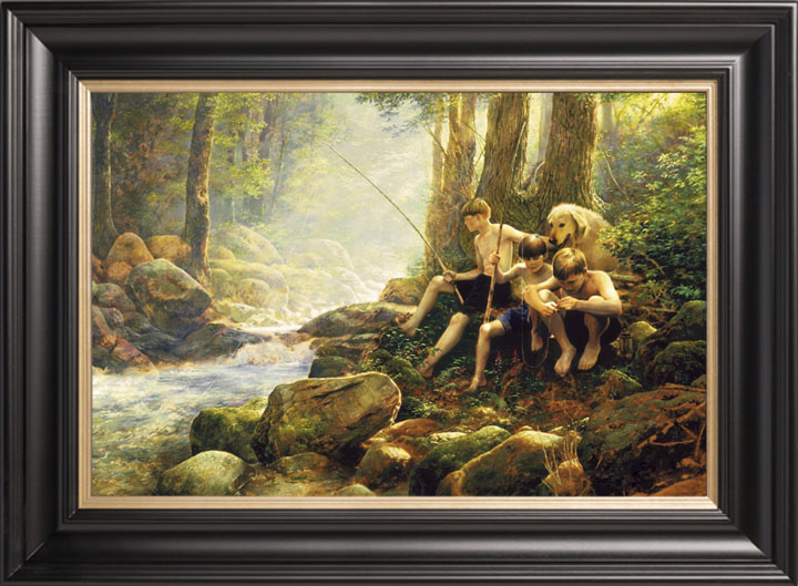Hook, Line, & Summer – 20×30 Limited Edition Canvas (350 S/N)