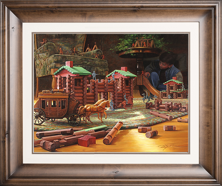 Imagination: The Final Frontier – 22×27 Limited Edition Paper (650 S/N) Framed
