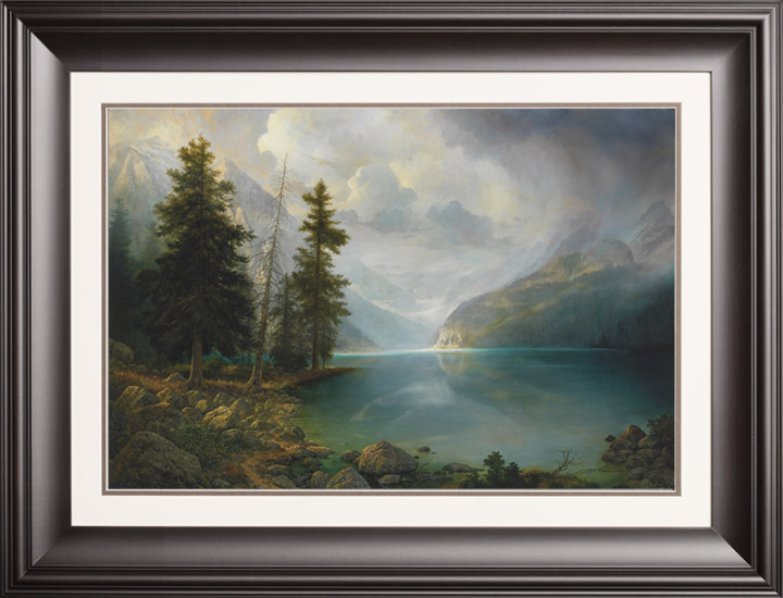 Mountain Grandeur – 20×30 Limited Edition Paper (950 S/N) Framed