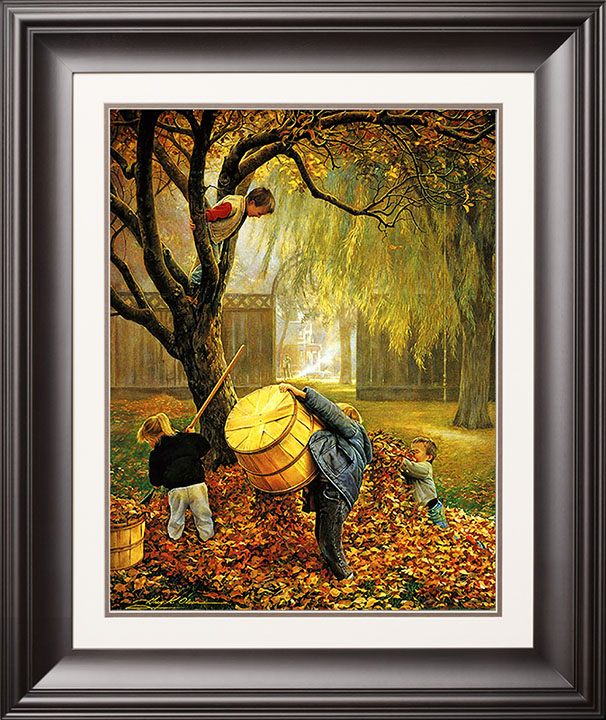 Fall Leaves – 16×20 Limited Edition Paper (950 S/N) Framed