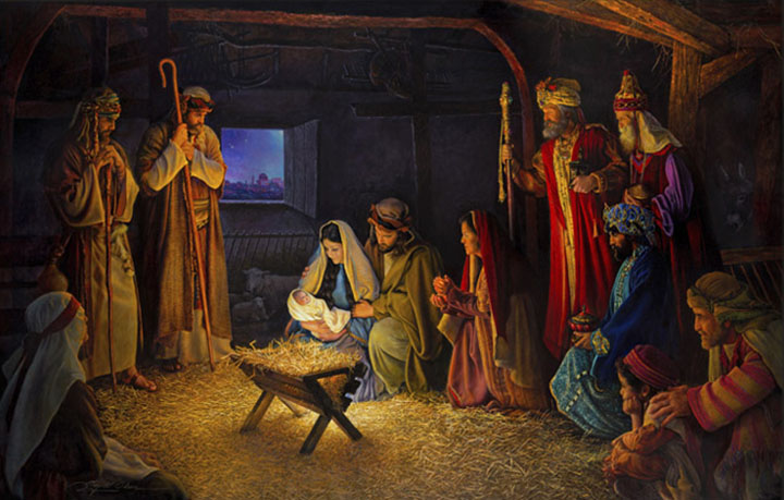 The Nativity – 22×36 Limited Edition Canvas Artist Proof (76 S/N)