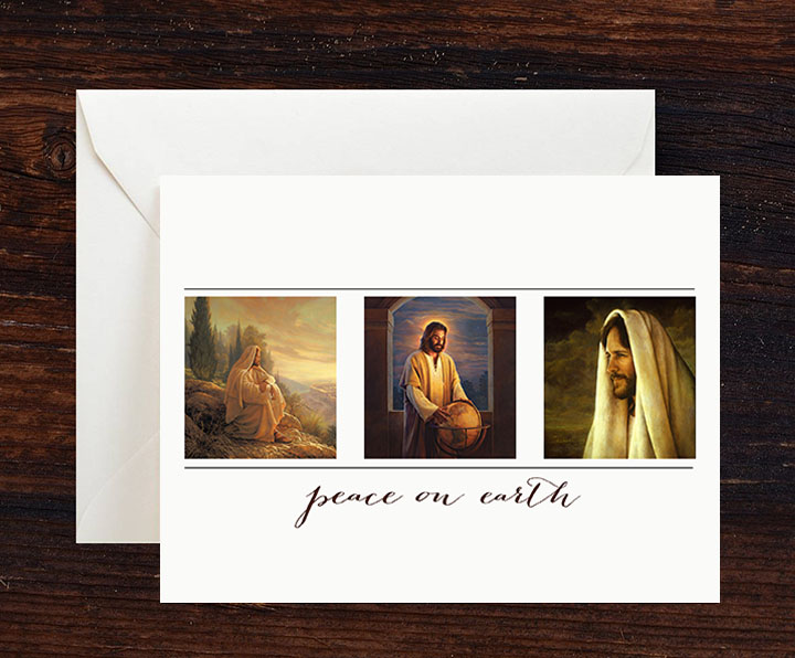 Peace on Earth Greeting Cards – 10 pack