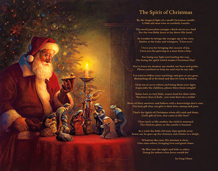 The Spirit of Christmas (with Poem)