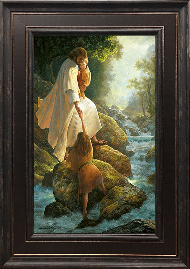 Be Not Afraid – 22×31 Framed Art by Greg Olsen
