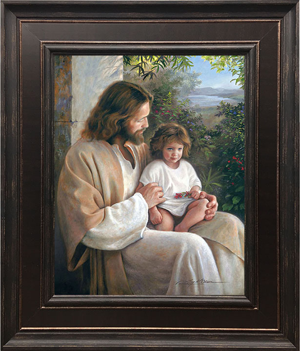 Forever and Ever – 22×26 Framed Art by Greg Olsen