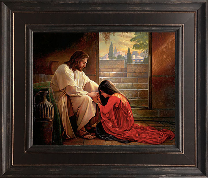 Forgiven – 24×28 Framed Art by Greg Olsen