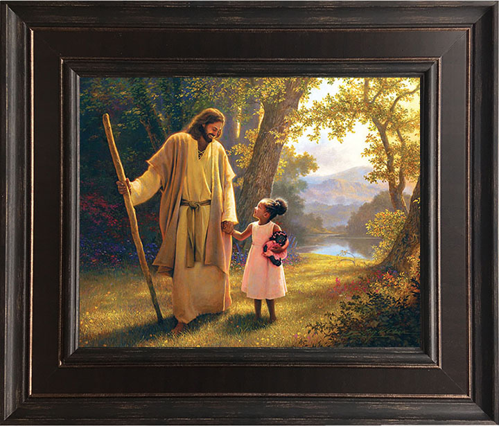 Hand in Hand – 24×28 Framed Art by Greg Olsen