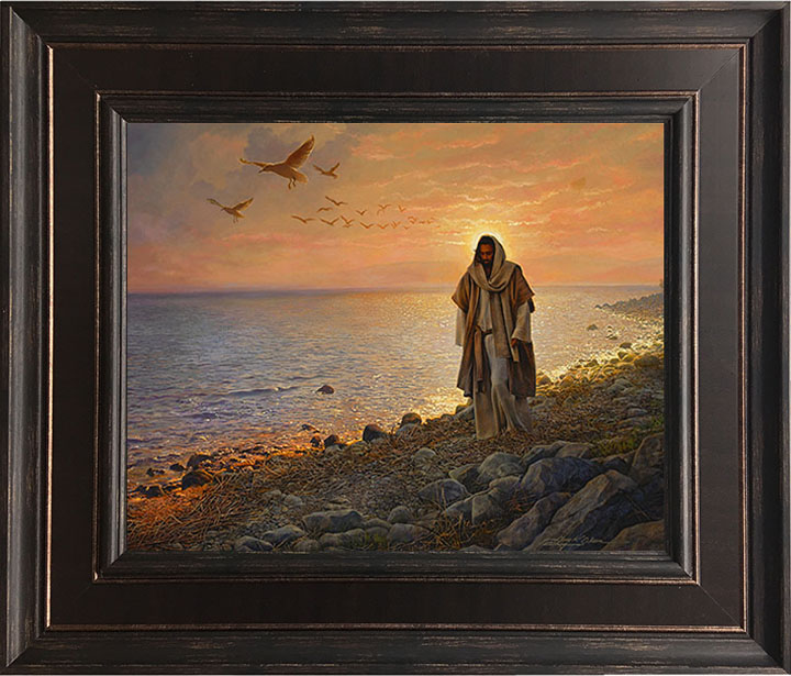 In the World, Not of the World – 24×28 Framed Art by Greg Olsen