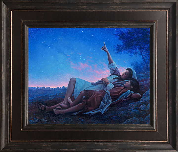 Just for a Moment – 24×28 Framed Art by Greg Olsen