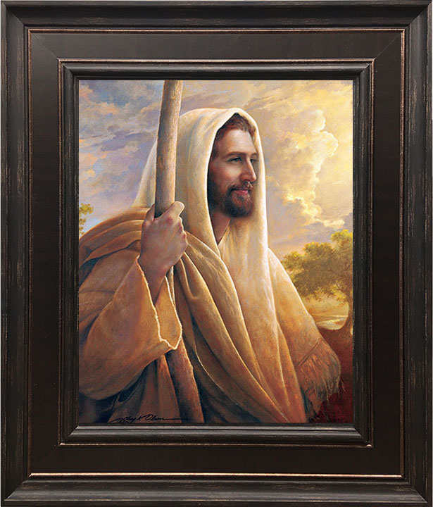 Light of the World – 22×26 Framed Art by Greg Olsen