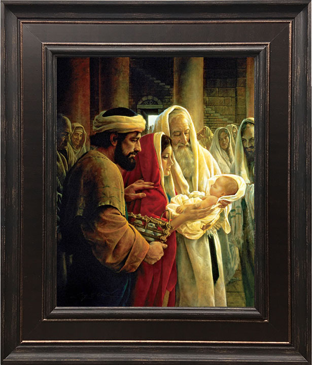 Light to the Gentiles – 24×28 Framed Art by Greg Olsen