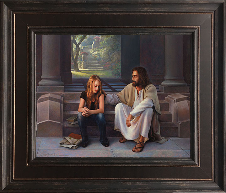 Master's Touch – 24×28 Framed Art by Greg Olsen
