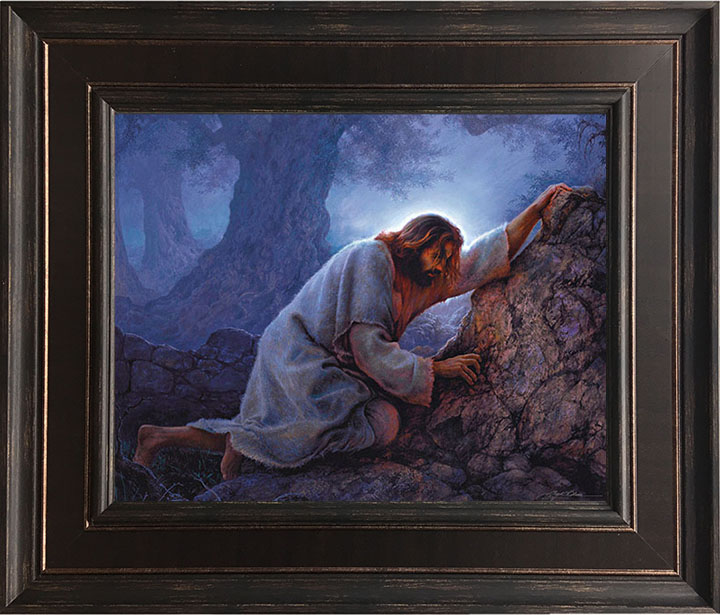 No Greater Love – 23×28 Framed Art by Greg Olsen