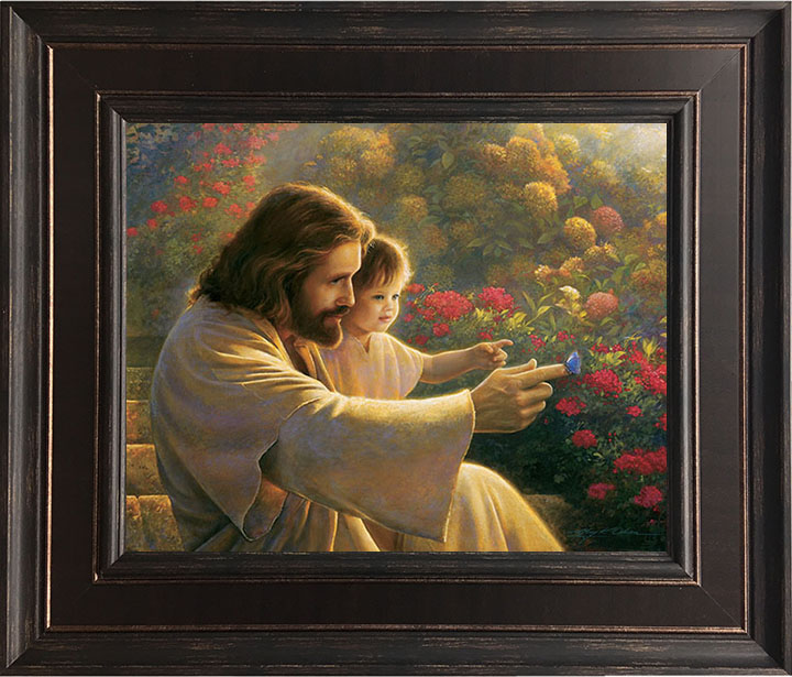 Precious in His Sight – 22×26 Framed Art by Greg Olsen