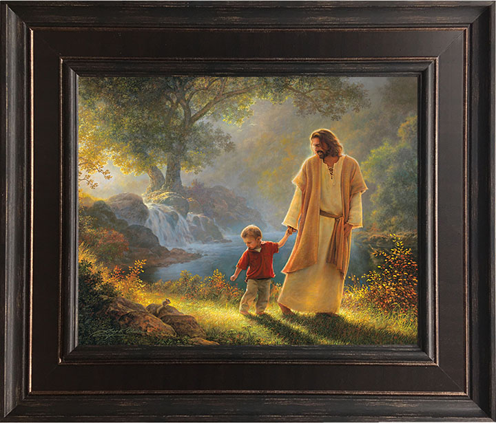 Take My Hand – 24×28 Framed Art by Greg Olsen