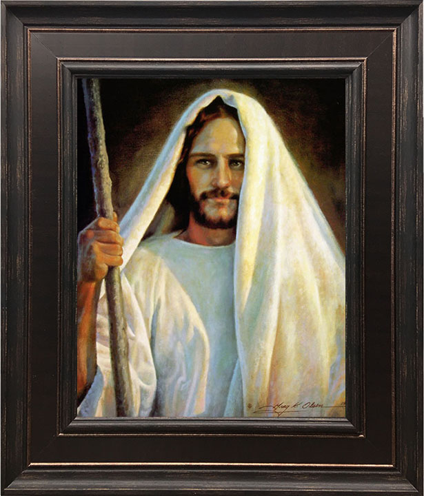 The Savior – 24×28 Framed Art by Greg Olsen