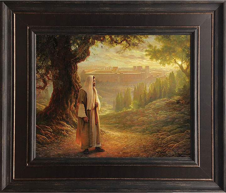 Wherever He Leads Me – 22×27 Framed Art by Greg Olsen