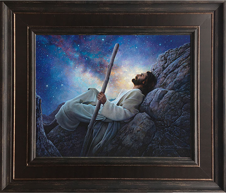 Worlds Without End – 24×28 Framed Art by Greg Olsen