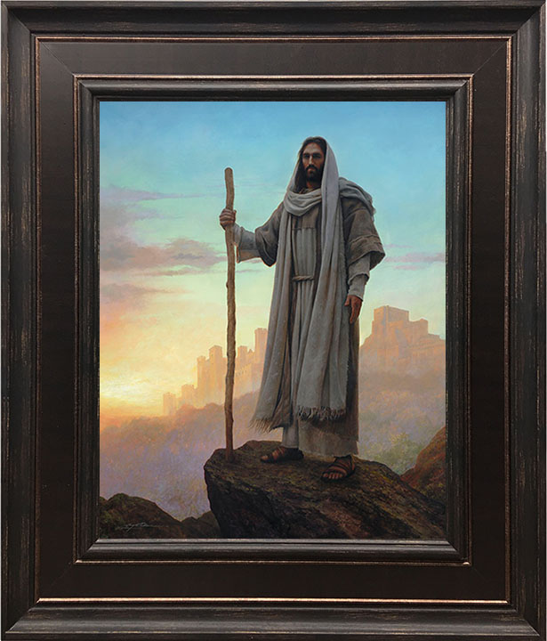 Mighty Fortress – 24×28 Framed Art by Greg Olsen