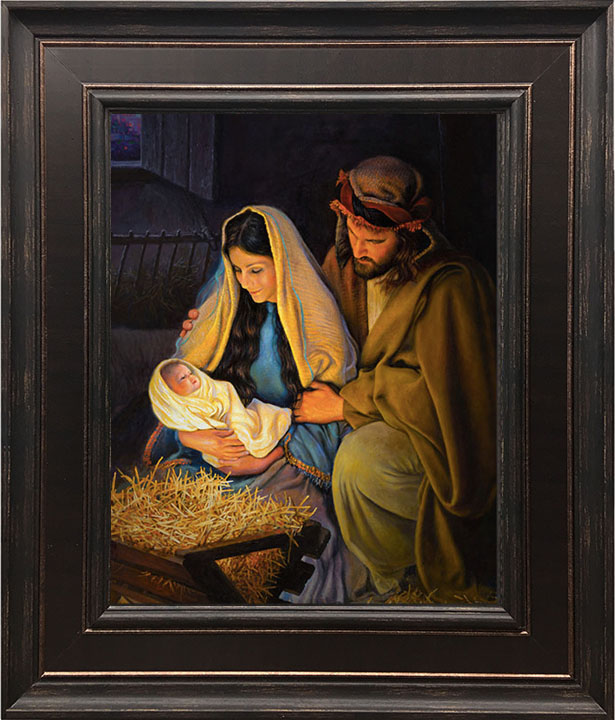 Holy Family – 24×28 Framed Art