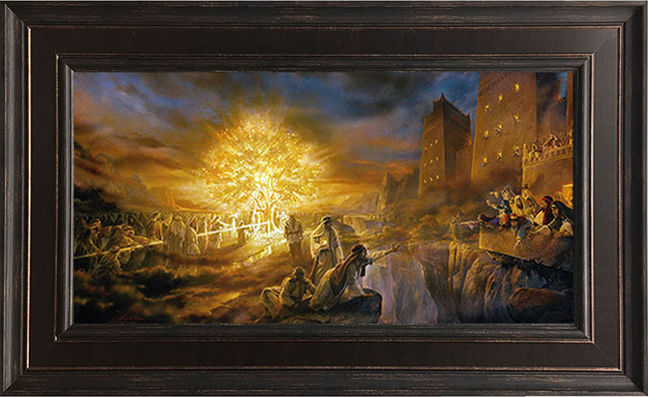 Tree of Life – 19×30 Framed Art by Greg Olsen