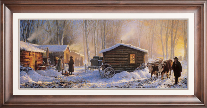 Winter Quarters – 12×32 Limited Edition Paper (2500 S/N) Framed