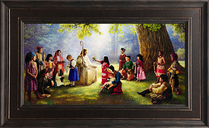 Children of the World – 18×28 Framed Art