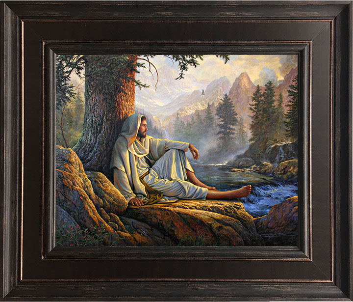 Awesome Wonder – 23×28 Framed Art by Greg Olsen