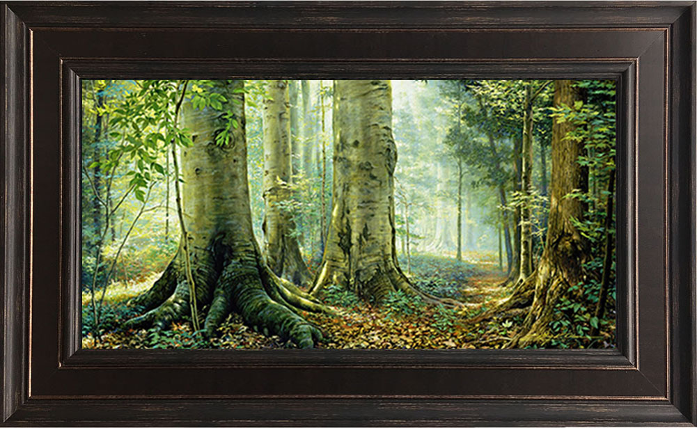Sacred Grove – 19×30 Framed Art by Greg Olsen