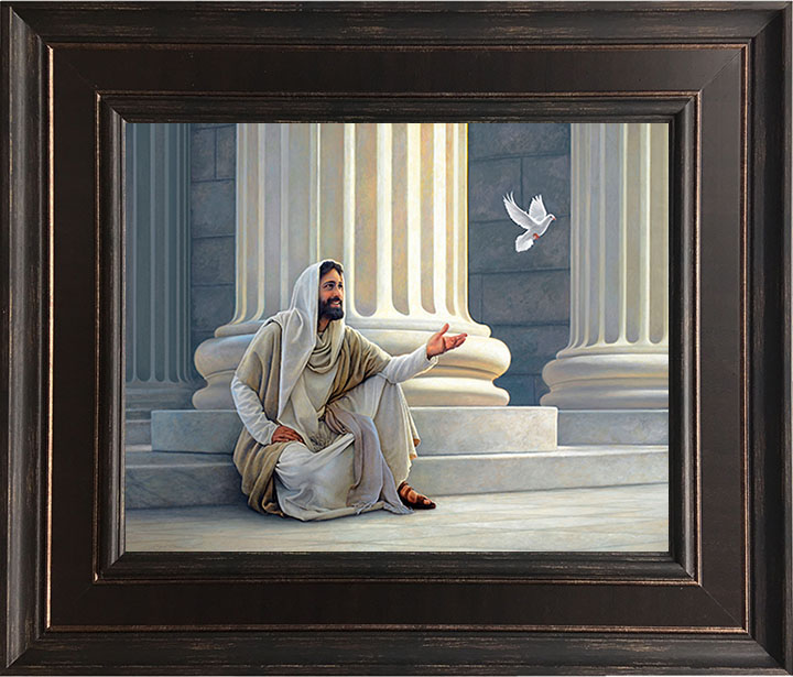 And The Truth Shall Make You Free – 24×28 Framed Art by Greg Olsen